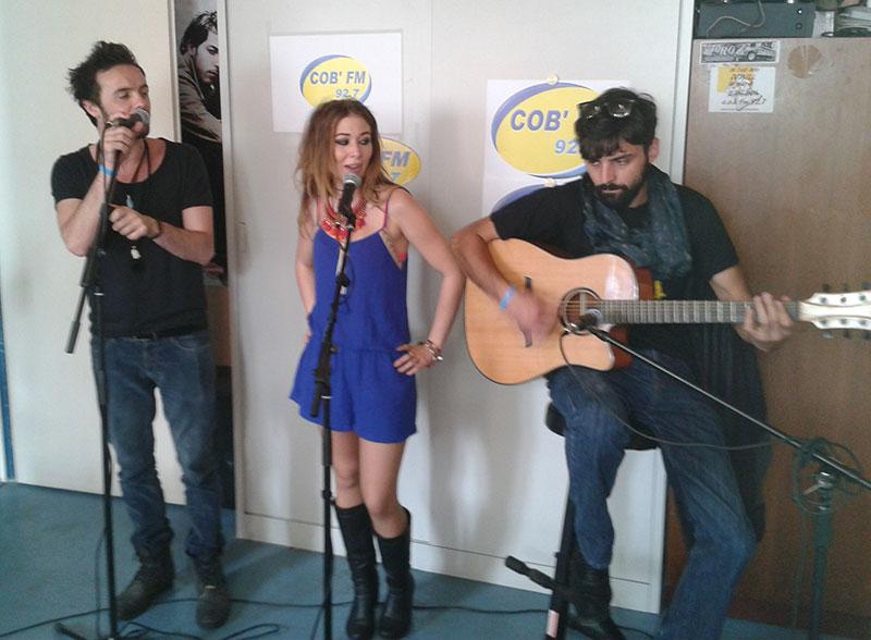Lena Luce sur COB'FM
