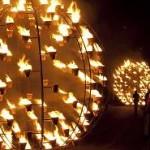 La Compagnie Carabosse présente 'Installation de feu' à Art Rock