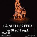 La Nuit des Feux ce week-end à la Briqueterie